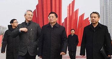 张敬华调研渡江胜利纪念馆维修改造和展陈提升工作